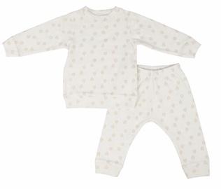 Lodger Baby Pajama Sleeper Rib Cloud Dancer 86