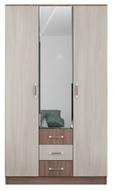 DSV Ronda ŠKR1200.2 Wardrobe Light/Dark Ash Shimo