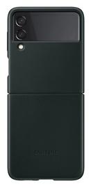 Чехол Samsung Galaxy Z Flip3 5G Leather, зеленый