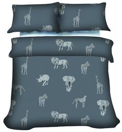 Комплект постельного белья, серый, 200x220