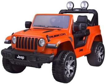 Bezvadu automašīna Mportas Jeep Wrangler Rubicon, oranža