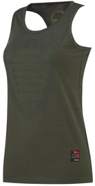 Thorn Fit Arrow Tank Top Army Green XS