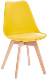 Ēdamistabas krēsls Homede Tempa Yellow, 4 gab.