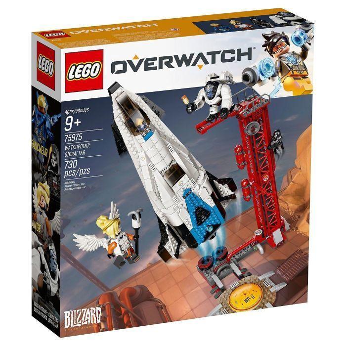 Конструктор LEGO® Overwatch 75975 Дозорный пункт: Гибралтар