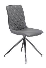 Ēdamistabas krēsls Black Red White Elisa Grey, 1 gab.