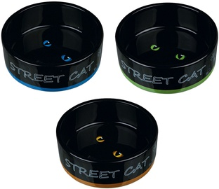 Trixie Street Cat Ceramic Bowl 300ml