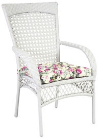 Home4You Chair Wicer White