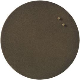Магнитная доска - доска объявлений Naga Magnetic Glassboard Round Metal, 350 мм x 350 мм