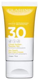Крем для загара Clarins Dry Touch Sun Care Face Cream SPF30, 50 мл