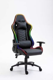 Happygame 8051 LED Gaming Chair Black