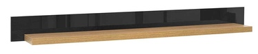 Black Red White Arosa Shelf Baltic Oak/Black Gloss