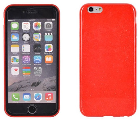Telone Candy Ultra Slim Back Case For HTC Desire 820 Red