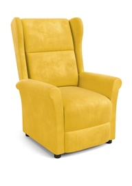 Atzveltnes krēsls Halmar Agustin 2 Mustard, 75x92x107 cm