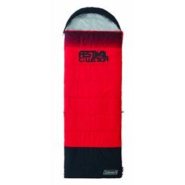 Guļammaiss Coleman Festival Single Black Red, labais, 225 cm