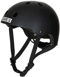 Ķiveres velobraukšanai Save My Brain Helmet Black Large