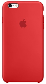 Apple Case For iPhone 6s Plus Silicone Red