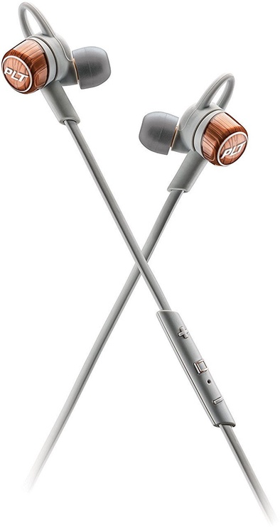 Austiņas Plantronics Backbeat GO 3 Copper Grey, bezvadu