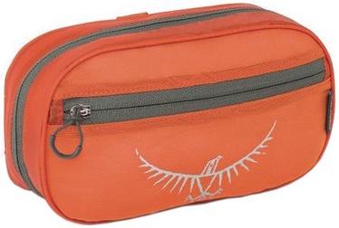 Kosmētikas somiņa Osprey Wash Bag Zip Poppy Orange, oranža/pelēka
