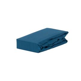 Palags Domoletti, zila, 160x200 cm, ar gumiju