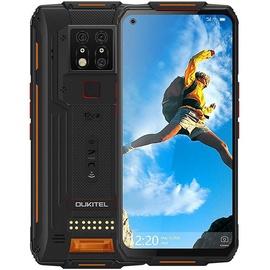 Мобильный телефон OukiTel WP7, черный/oранжевый, 6GB/128GB