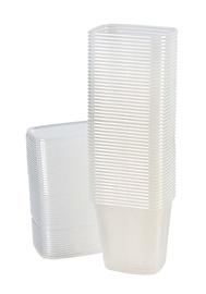 Plastmas trauki uzglabāšanai, 500ml, 10gab.