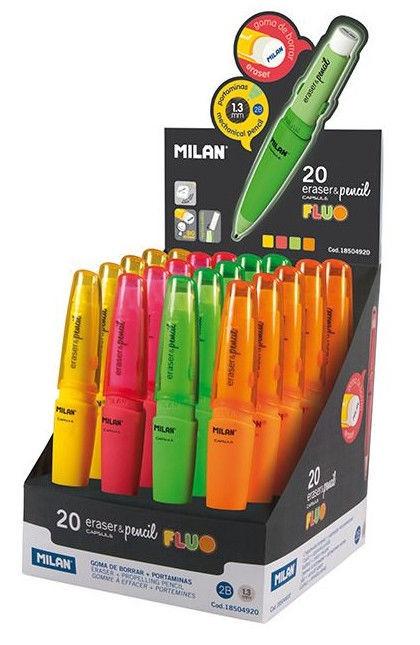 Milan Pencil Mechanical Capsule Fluo 18504920