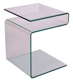 Kafijas galdiņš Signal Meble Epi Transparent, 380x420x480 mm