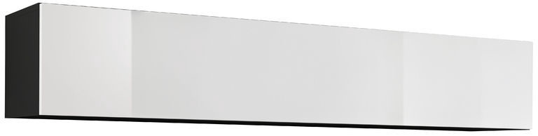 ASM Fly 50 Cupboard Cabinet Black/White Gloss