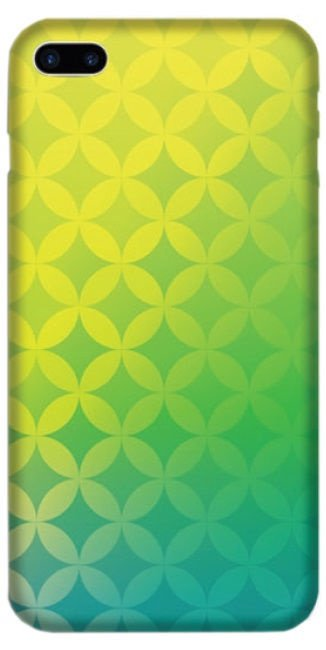 TakeMe Special Design Back Case Plus For Samsung Galaxy J6 Plus J610 Green Design