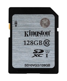 Kingston SDXC CL10, 128GB