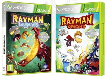 Rayman Legends and Rayman Origins Double Pack Xbox 360