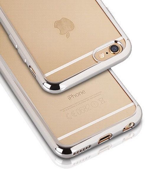 Telone Super Thin Silicone Back Case For Xiaomi Redmi Note 4 Transparent/Silver