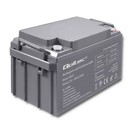 Qoltec AGM Battery 12V 65Ah Max 780A
