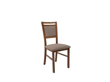 Black Red White Patras Chair April Oak/Brown