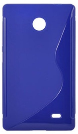 Telone Back Case S-Case for Nokia X / Dual Sim Blue