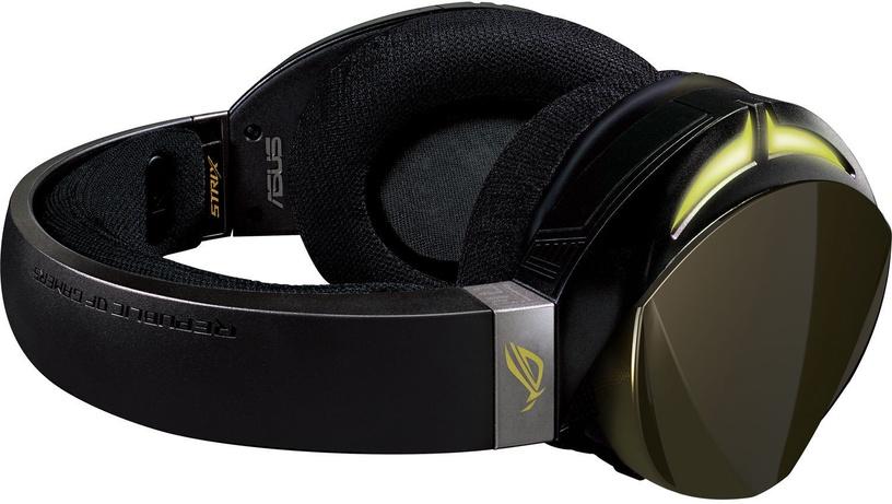 Игровые наушники Asus ROG Strix Fusion 700 Black, беспроводные