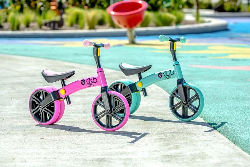 Балансирующий велосипед YVolution YVelo Junior 101048, зеленый, 9″