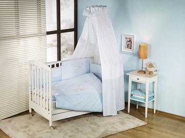 Nino El Amor Bedding Set Blue 3pcs