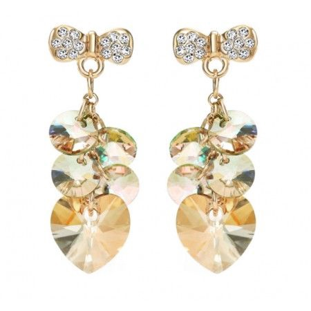 Vincento Earrings With Swarovski Elements PE-1006