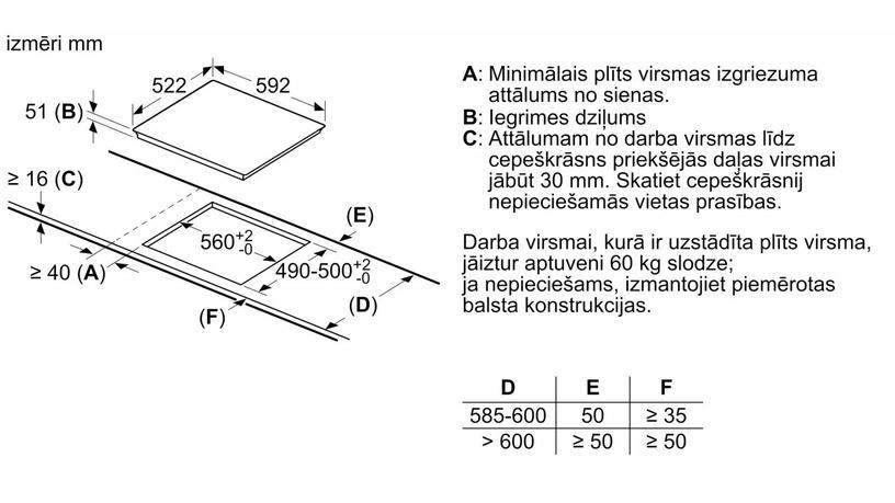 Indukcijas plīts Bosch PVS611BB5E