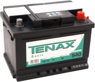Akumulators Tenax Basic, 12 V, 60 Ah, 540 A