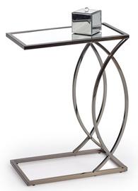 Kafijas galdiņš Halmar Parma, niķeļa, 460x250x600 mm