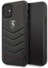 Ferrari FEHQUHCN61BK Back Case For Apple iPhone 11 Black