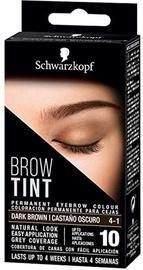 Uzacu un skropstu krāsa Schwarzkopf 17 Dark Brown, 17 ml
