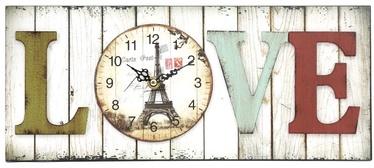 Platinet Wall Clock Love 43817