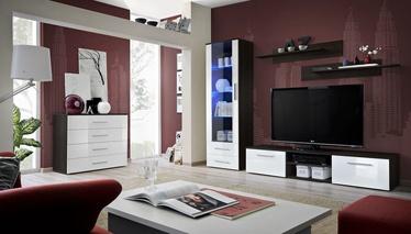 ASM Galino B Wall Unit Wenge/White Gloss