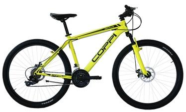 """Велосипед Coppi, черный/желтый, 15"""", 27″"""
