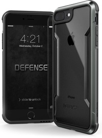 X-Doria Defense Shield Back Case For Apple iPhone 7 Plus/8 Plus Black