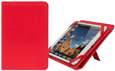 Rivacase Gatwick Kick-Stand Tablet Case 8'' Red