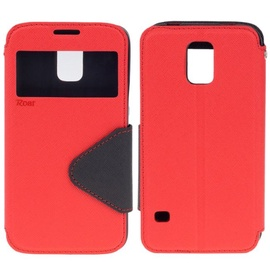 Roar Fancy Diary S-View Book Case For Apple iPhone 6/6S Red/Blue